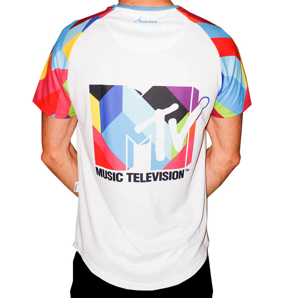 MTV Mens Technical Running T-Shirt