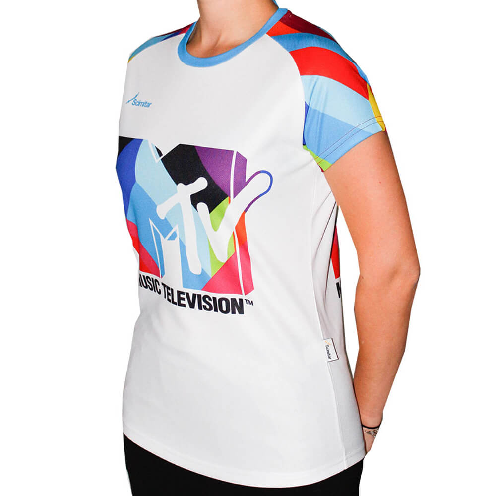 MTV Womens Technical Running T-Shirt
