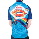 Mens Rainbow Drops Cycling Jersey