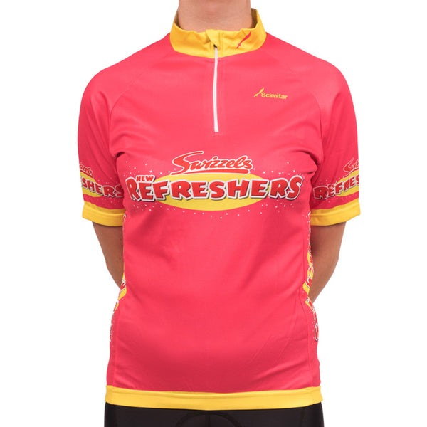 Refreshers Pink Cycling Jersey