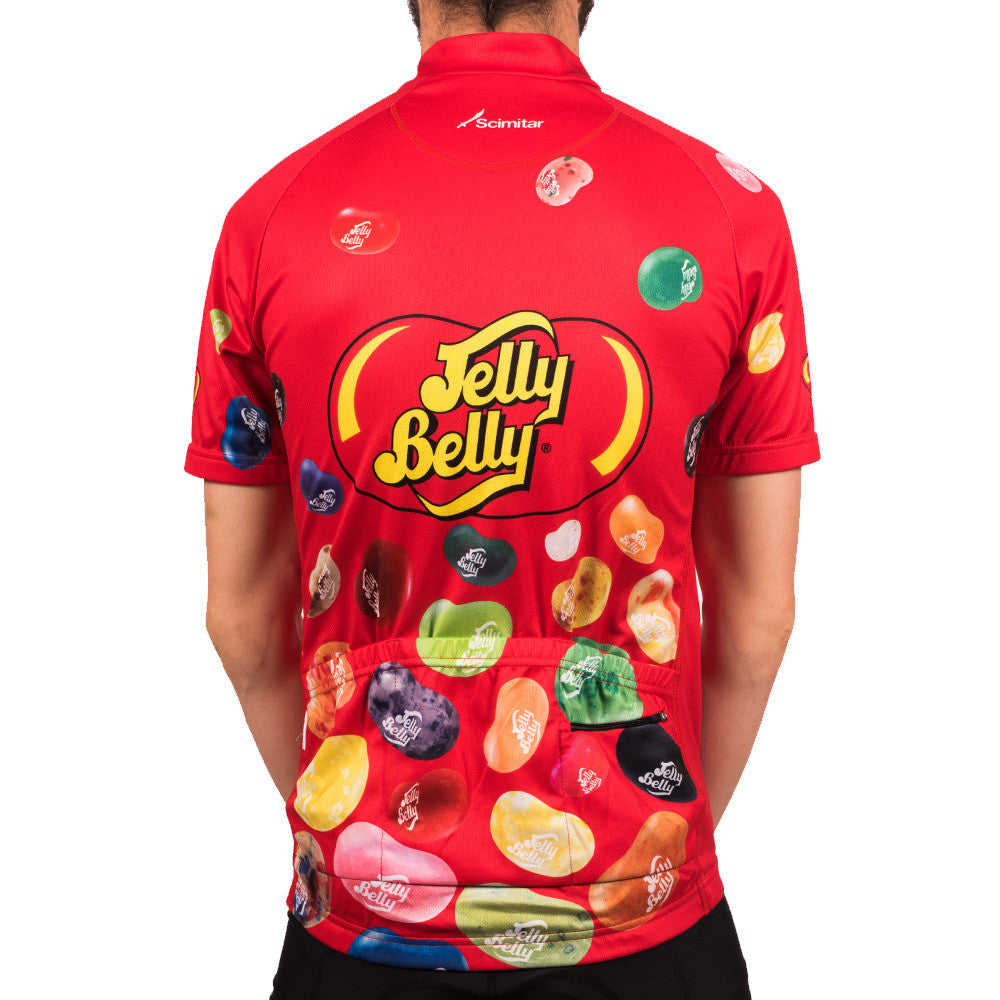 ccc1a621b Red Jelly Belly Cycling Jersey