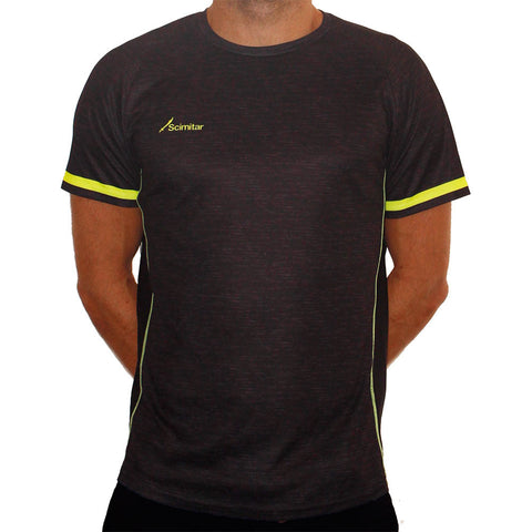 Contrast Yellow Technical T-Shirt