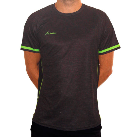 Contrast Green Technical T-Shirt