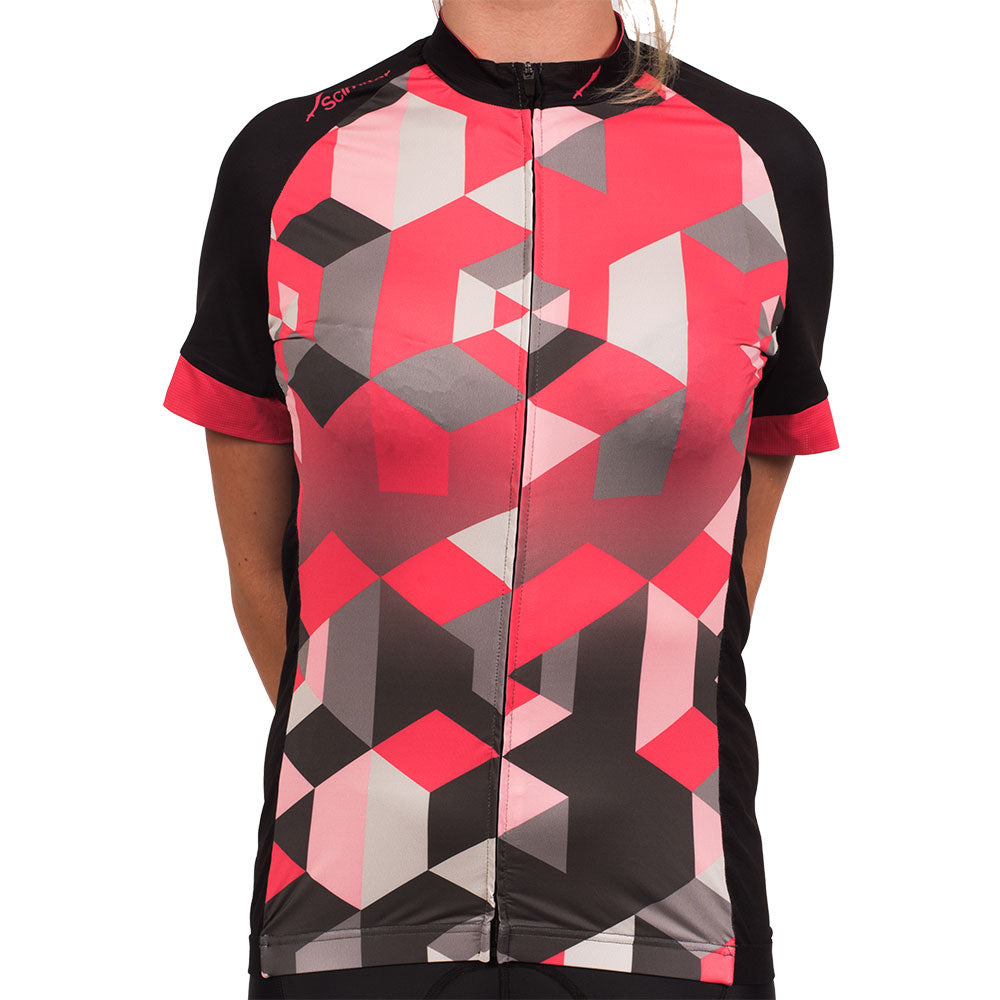 Geo Pink Elite Women's Cycling Jersey