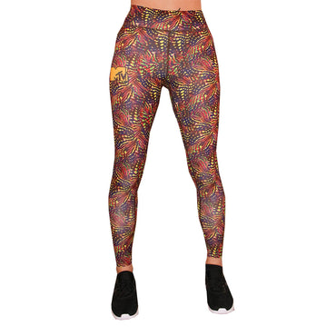 MTV Funky Red Women's Leggings