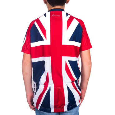 Kids GB Cycling Jersey