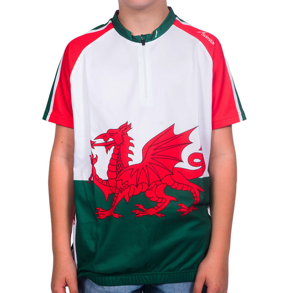 Kids Wales Cycling Jersey - Scimitar Shop