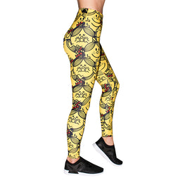 Little Miss Sunshine Running Leggings