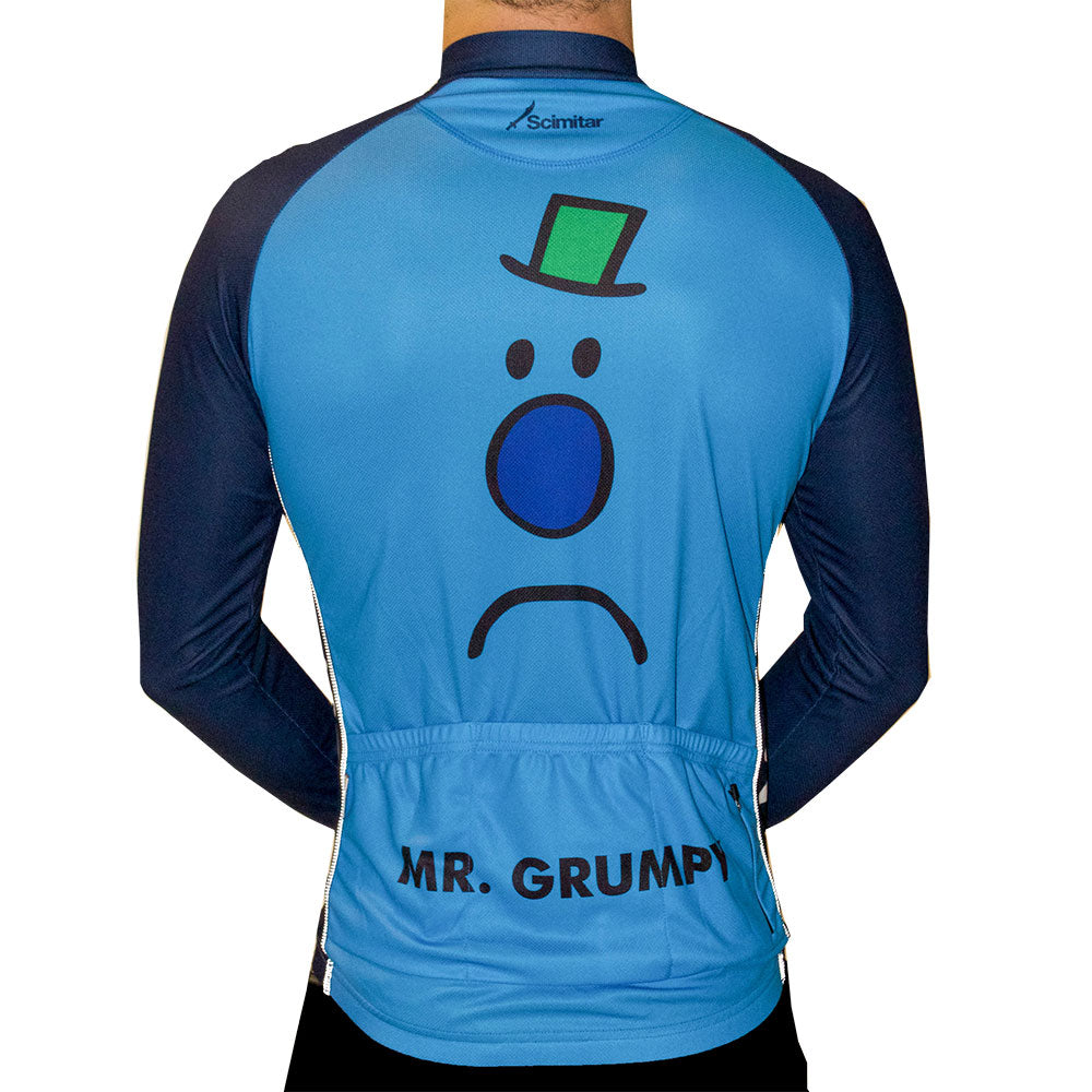 Mr Grumpy Long Sleeved Cycling Jersey