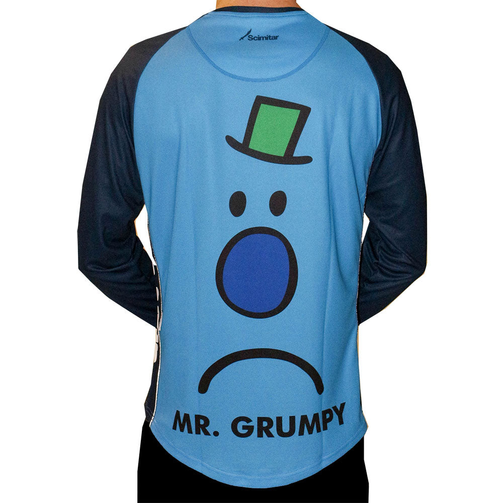 Mr Grumpy Long Sleeved Men's Technical T-Shirt