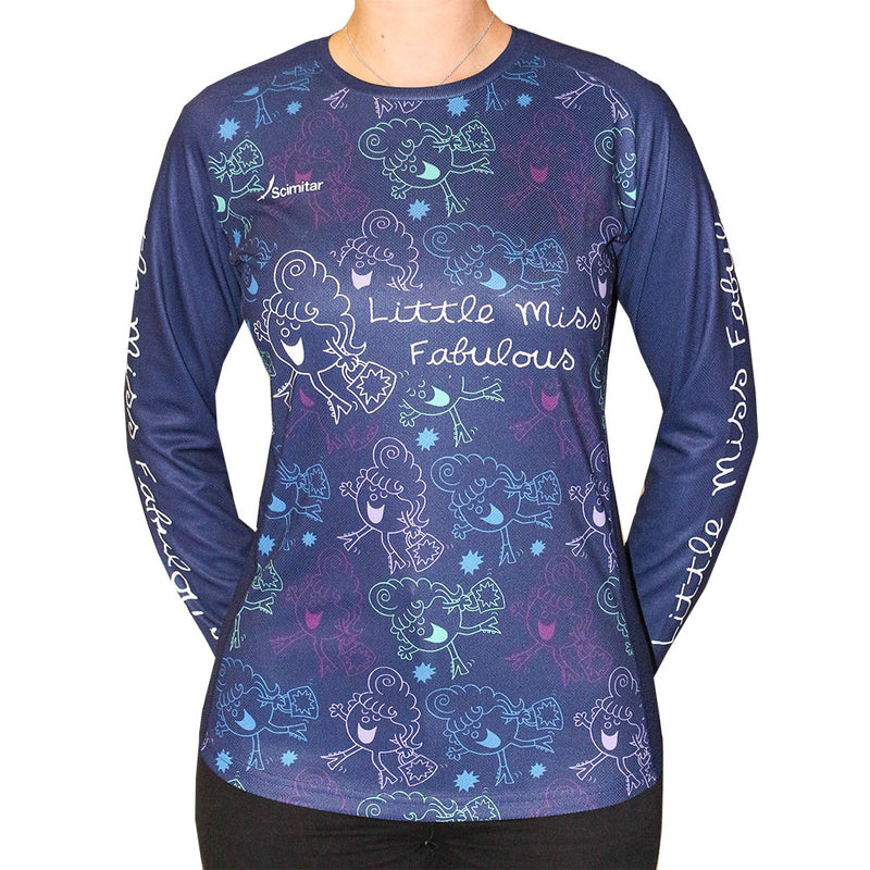 Little Miss Fabulous Long Sleeved Women's T-Shirt