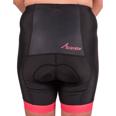 Geo Pink Elite Women's Cycling Shorts