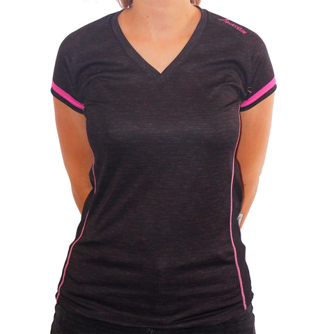 Contrast Pink Technical T-Shirt