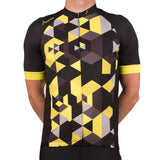 Geo Yellow Elite Cycle Jersey