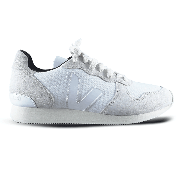 veja - holiday low top b mesh - white natual white pierre - sneaker