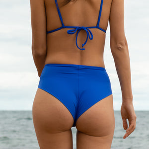 Electric Blue High Waisted Bottoms