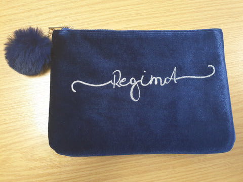 RegimA Blue Make-Up Bag