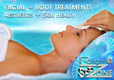 Zone Face & Body Treatment Poster