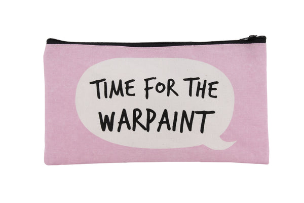 Time For The Warpaint Makeup Bag
