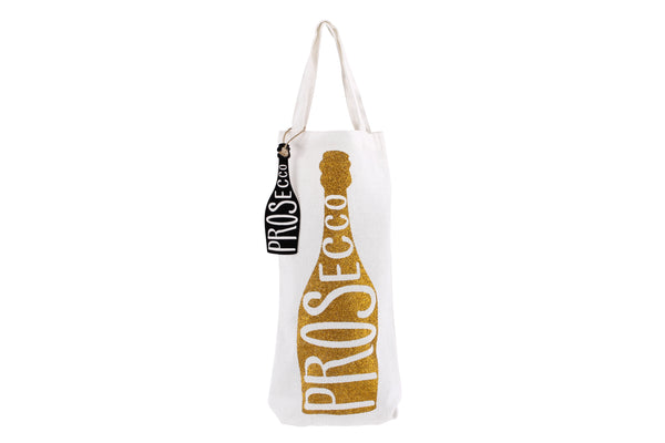 Prosecco Glitter Bottle Bag