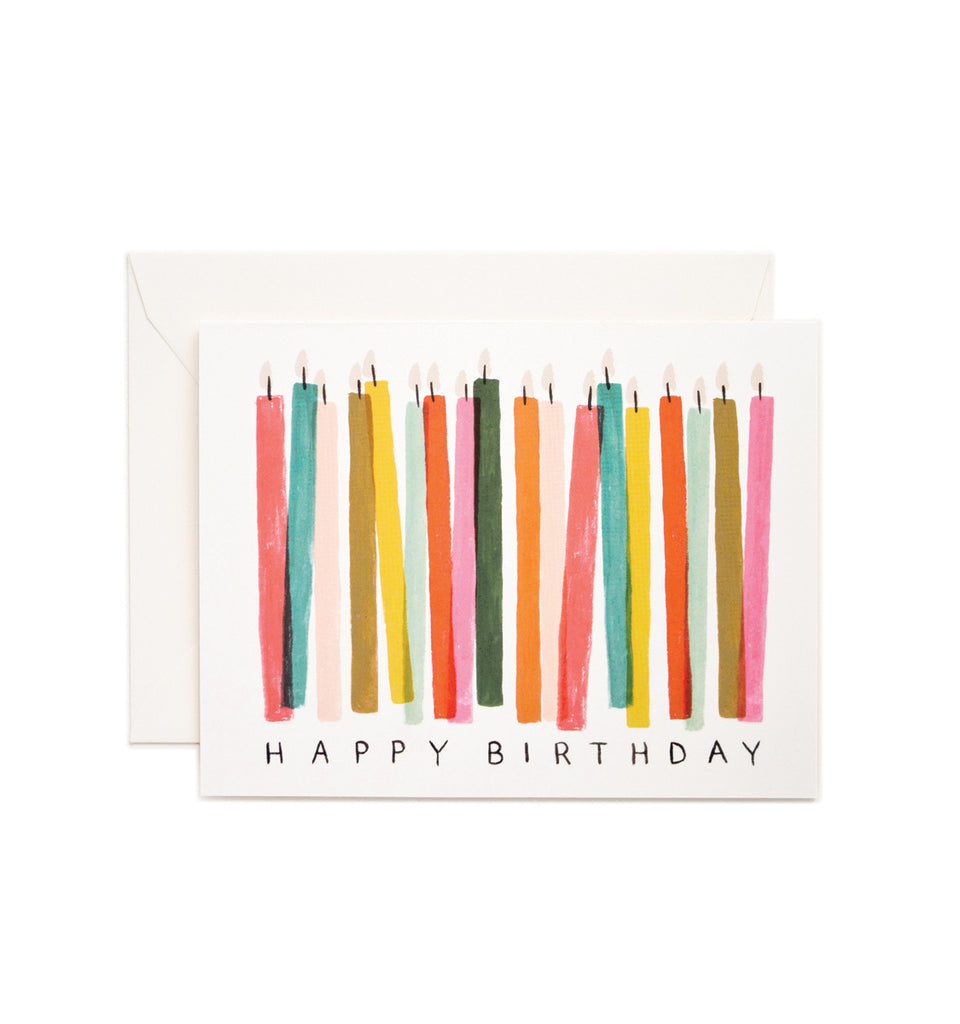 Birthday Candle Card