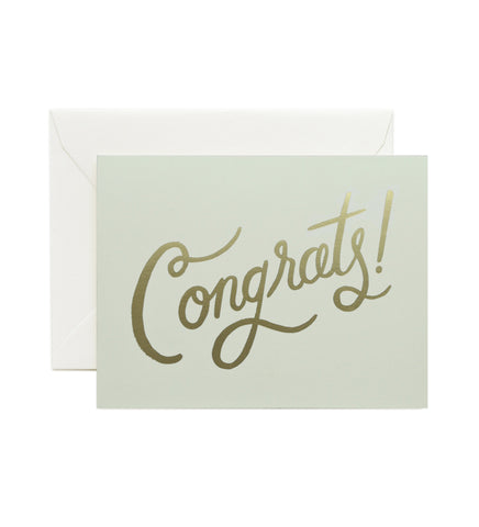Timeless Congrats Card