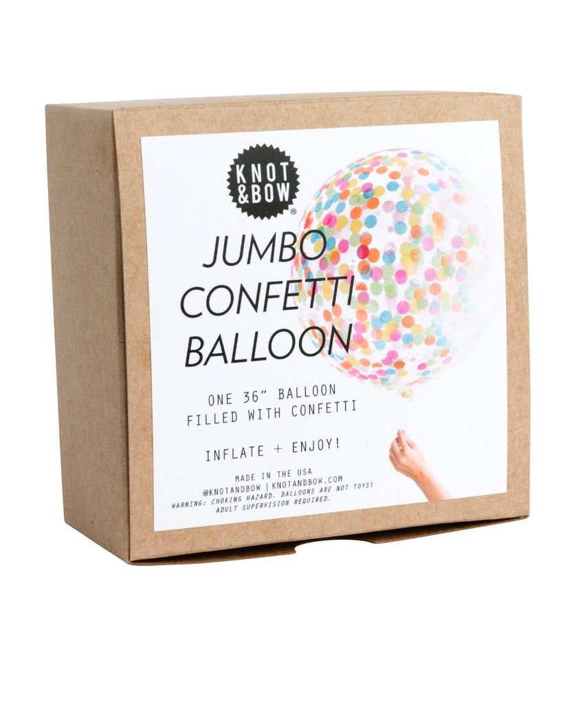 Assorted Jumbo Confetti Balloon