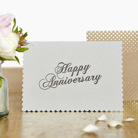 Happy Anniversary Luxury Card