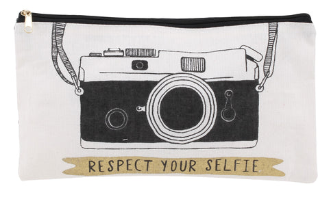 Respect your Selfie Makeup Bag