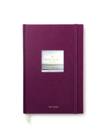 Kate Spade Travel Journal - Plum