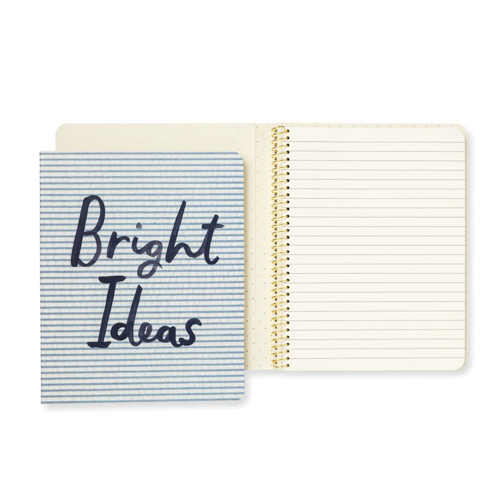 Kate Spade Concealed Spiral Bright Ideas Notebook – Papier Beau