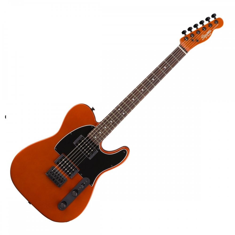 Squier Limited Edition Affinity Telecaster HH Metallic Orange With Matching Headstock