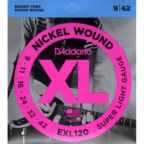 D'Addario EXL120 XL Electric Guitar Strings