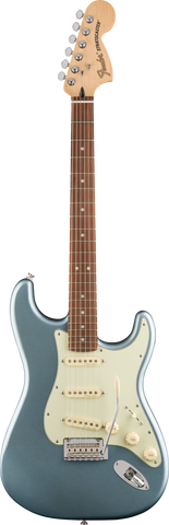 Fender Deluxe Roadhouse Stratocaster in Mystic Ice Blue