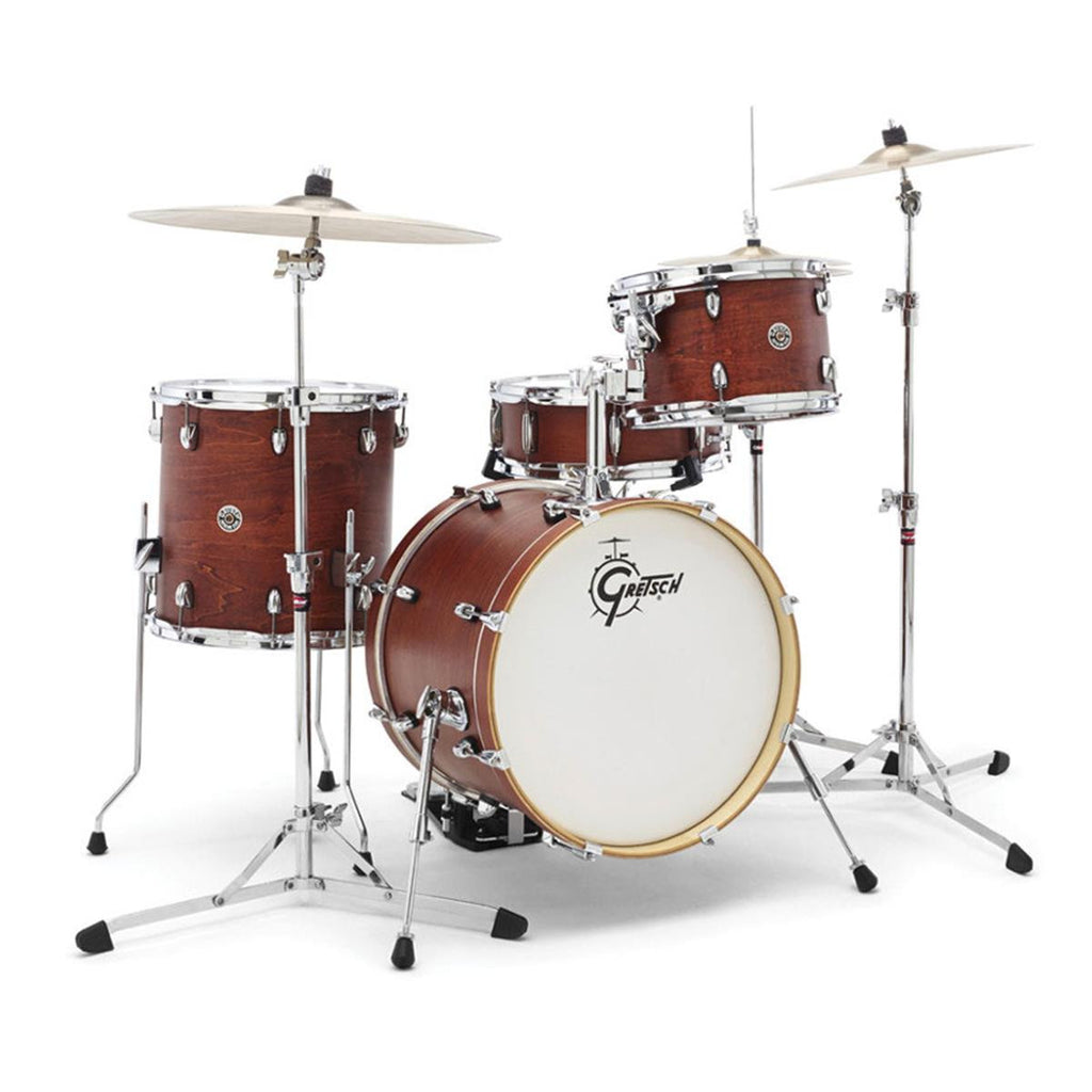 "Gretsch Catalina Club 20"" 4pc Shell Pack in Satin Walnut Glaze"