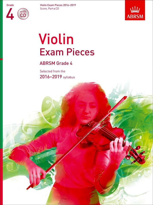 ABRSM Violin Exam Pieces Grade 4 With CD