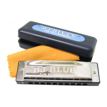 BJ Blues Harmonica - Key of C