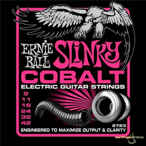 Ernie Ball 2723 Cobalt Slinky Electric Guitar Strings