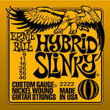 Ernie Ball 2222 Hybrid Slinky Electric Guitar Strings