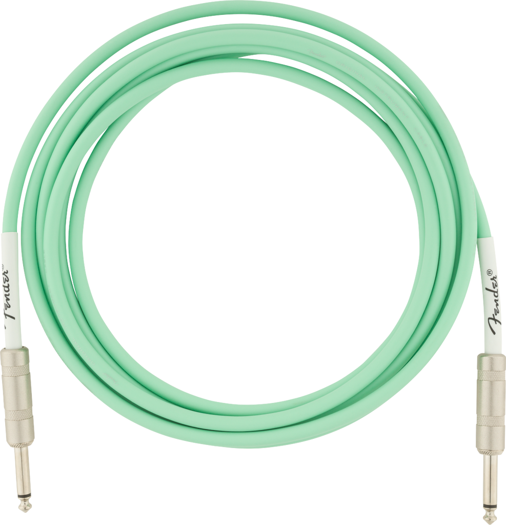 Fender 10ft Original Series Instrument Cable - Surf Green