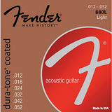 Fender 880L Light Dura-Tone Acoustic Guitar Strings