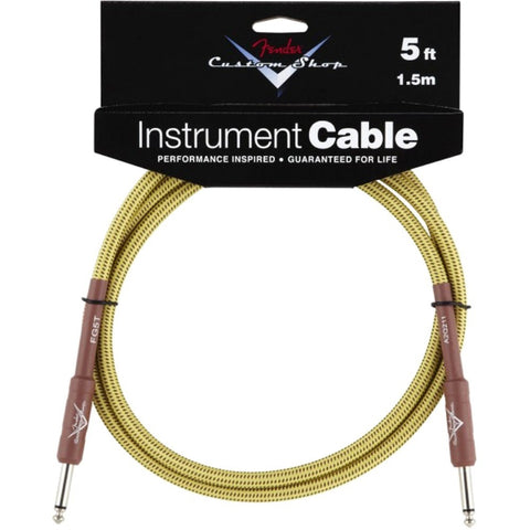 Fender FG05T Custom Shop Instrument Cable