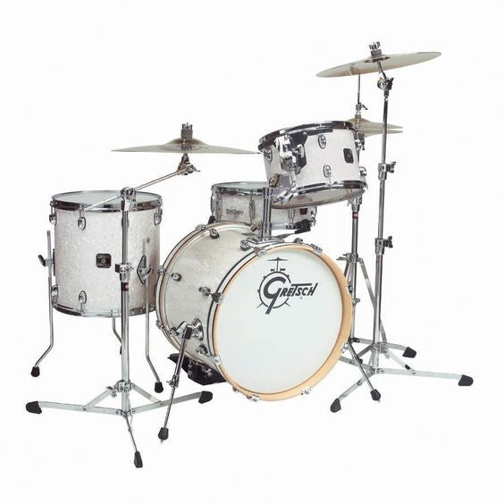 "Gretsch Catalina Club 22"" 4pc Shell Pack in White Pearl"