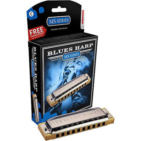 Hohner MS-Series Blues Harp Harmonica