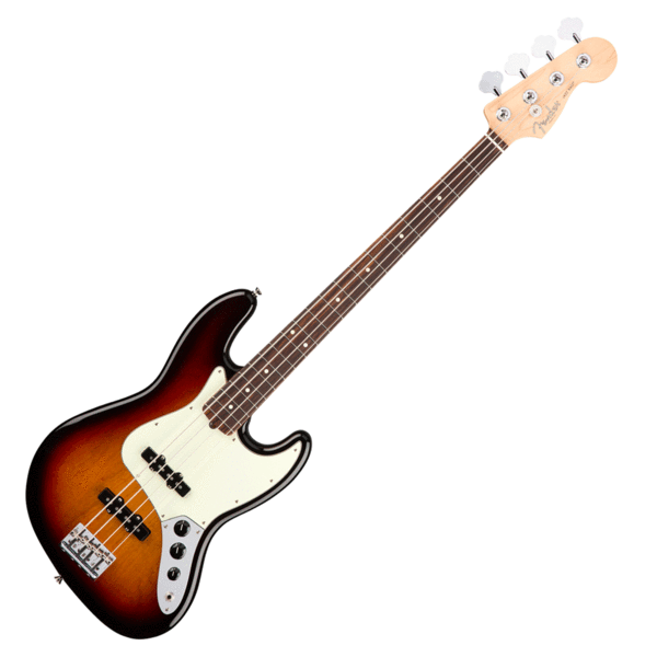 Fender American Professional Jazz Bass in 3 Tone Sunburst