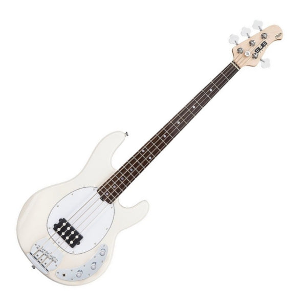 Sterling by Musicman SUB Ray4 Bass Guitar in Vintage Cream