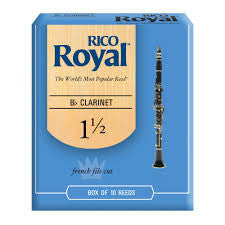 Rico Royal Bb Clarinet Reeds 10 Pack