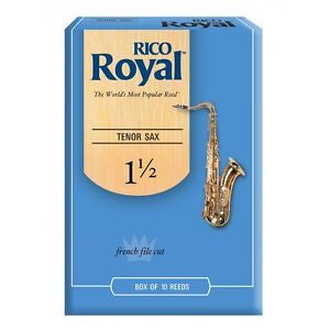 Rico Royal Tenor Sax Reeds 10 Pack