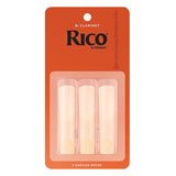 Rico 2.0 Bb Clarinet Reeds - Pack of 3