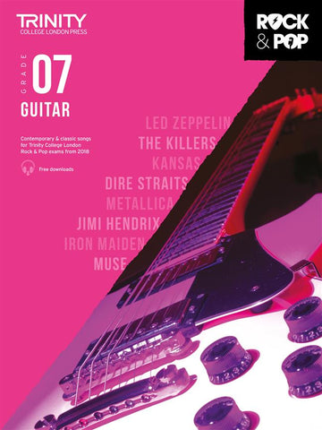 Trinity College London Rock & Pop Guitar - Grade 7